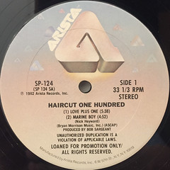 HAIRCUT ONE HUNDRED:GET CLIPPED!(LABEL SIDE-A)