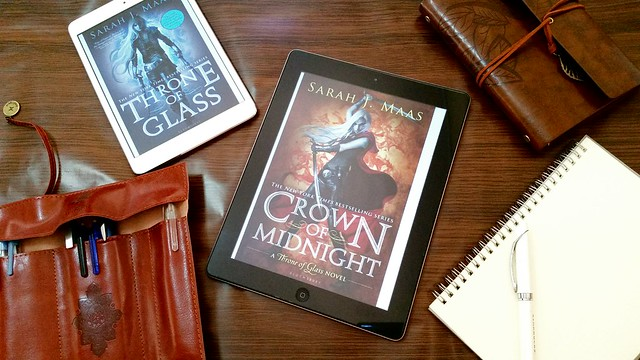Crown of Midnight by Sarah J Maas | Throne of Glass #2