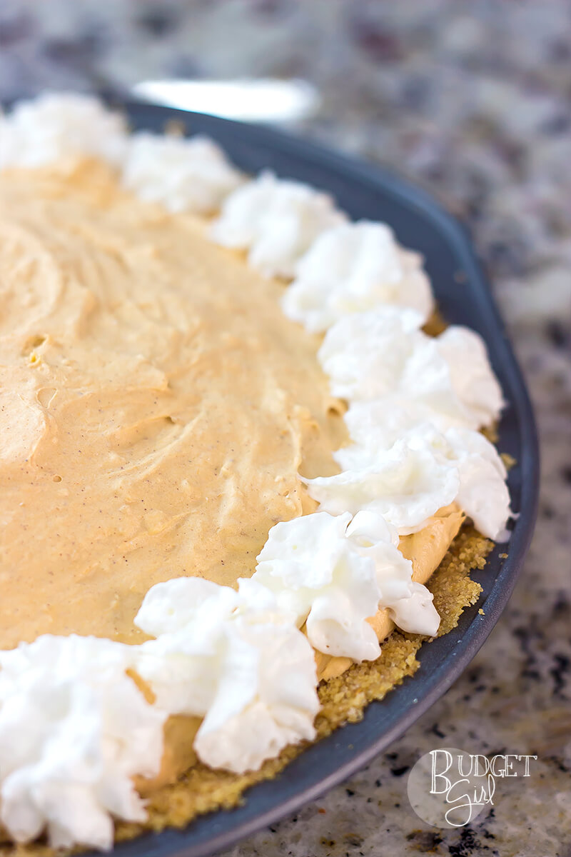 Easy 10-Minute No-Bake Caramel Pumpkin Cheesecake