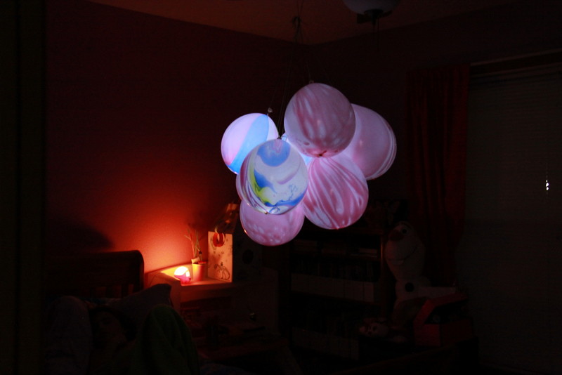Lighted Balloons
