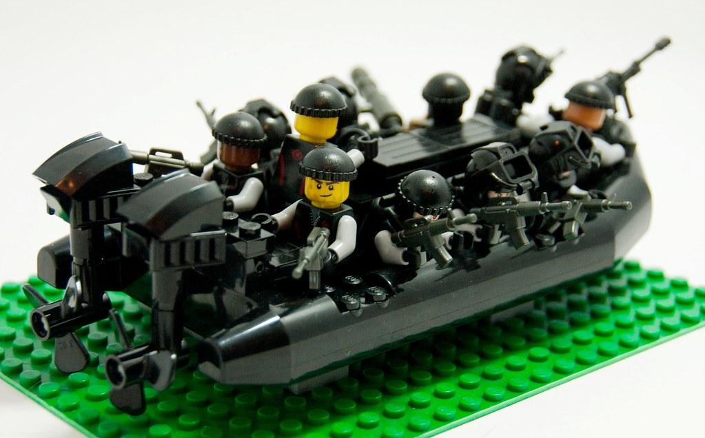 Navy Seal Custom Navy Seal Zodiac Boat Wip