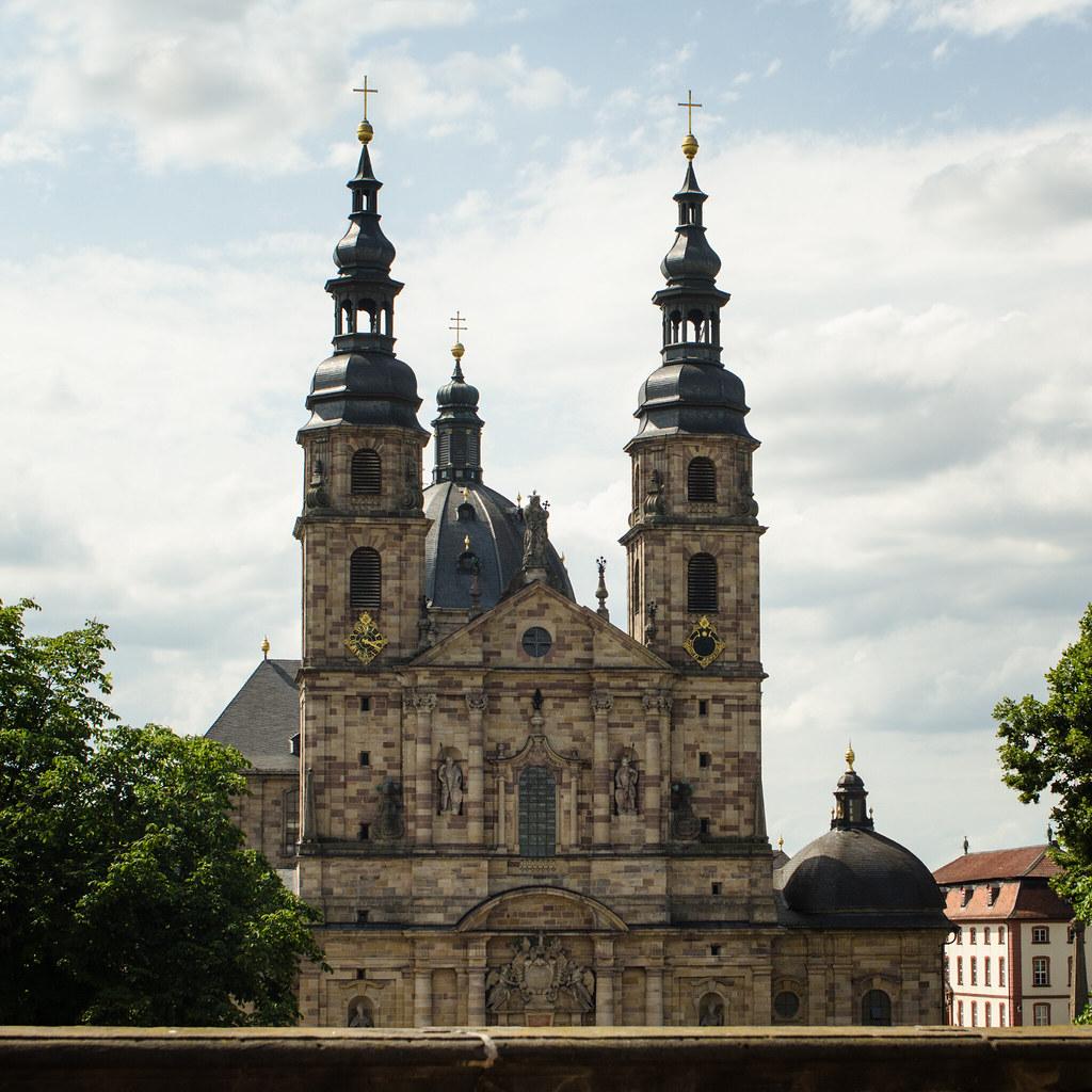 Fulda (Germany)   Dom (Cathedral) in Fulda, Hessen ...