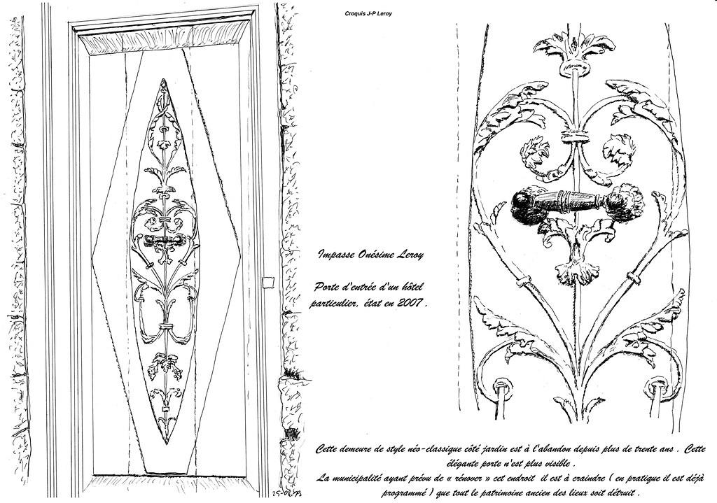 le style directoire valenciennes une porte impasse on flickr. Black Bedroom Furniture Sets. Home Design Ideas