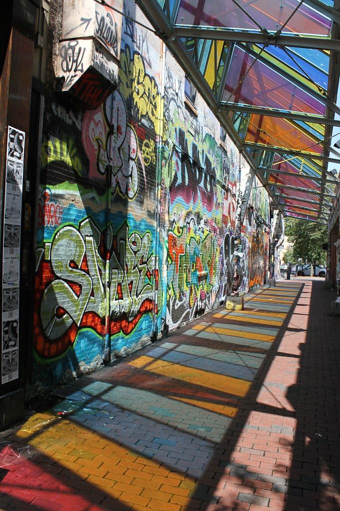 graffiti wall central kitchen central square cambridge by fredhosley - Central Kitchen Cambridge
