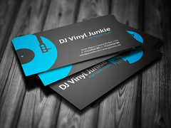 Vinyl dj business card this business card template may be flickr vinyl dj business card by iamvinyljunkie colourmoves