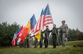 Multinational color guard | by U.S. Army Europe