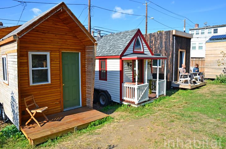 Boneyard studios tiny house village washington d c 39 s for Small house plans washington state