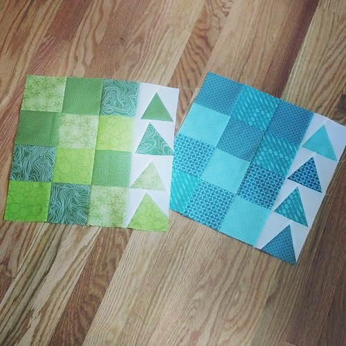 Urban Chicken blocks for SMQG charity quilt | by aquilterstable