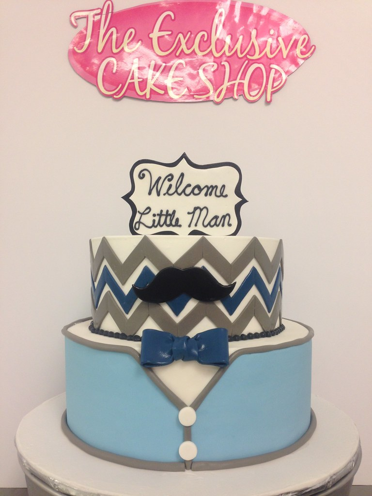 Little Man Mustache Cake Exclusive Cake Shop Flickr