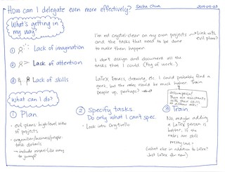 2014-04-03 How can I delegate even more effectively #delegation | by sachac