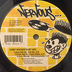 CHIEF ROCKER BUSY BEE:ROCK WITH ME(LABEL SIDE-A)
