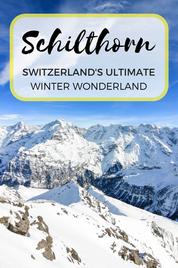 Visiting the Schilthorn: A Swiss Winter Wonderland