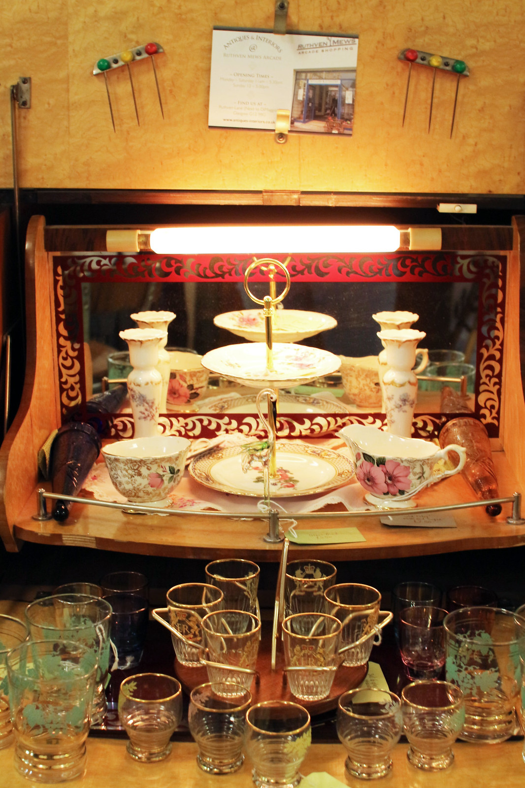 Cup & Saucer Vintage Tea Rooms Glasgow UK travel blogger