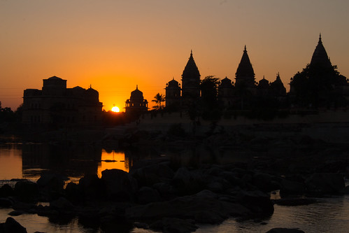 Orchha sunset
