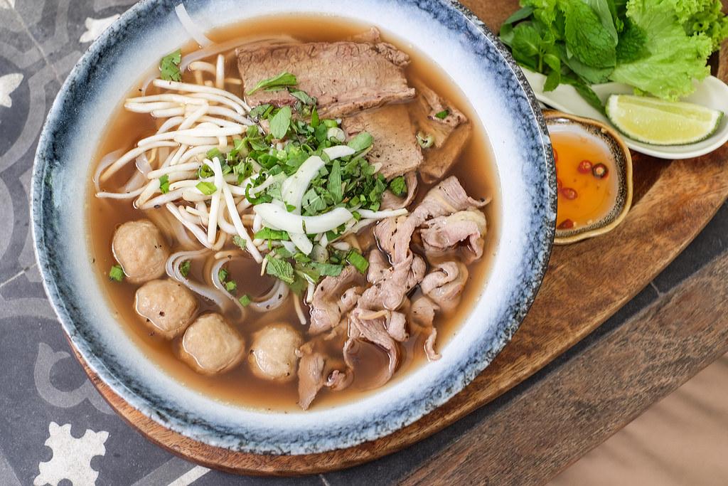 Vietnamese Food: Little Saigon Beef Pho