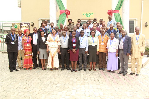 Participants at the 4th National innovation platform meeting ACGG Nigeria
