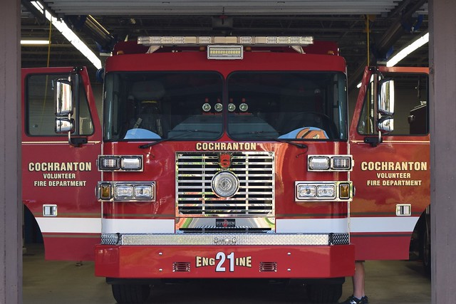 New Engine 421 arriving Home Aug 2016.