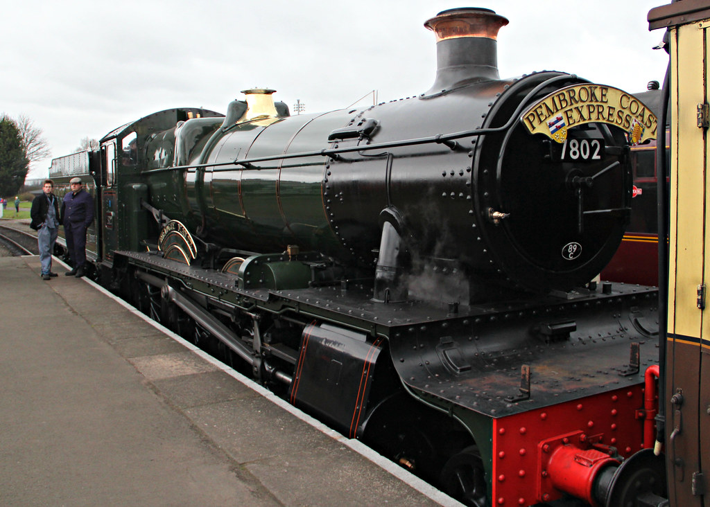 ... GWR 7800 Class 7802 'Bradley Manor' | by Stuart Axe