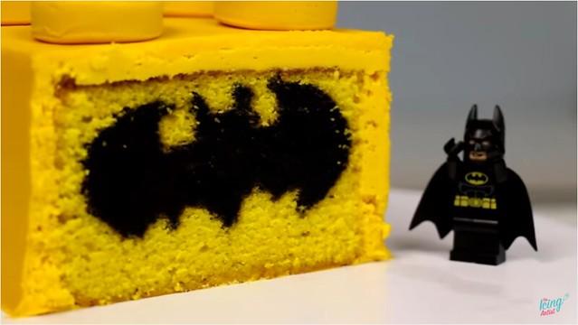 DIY LEGO Batman Cake