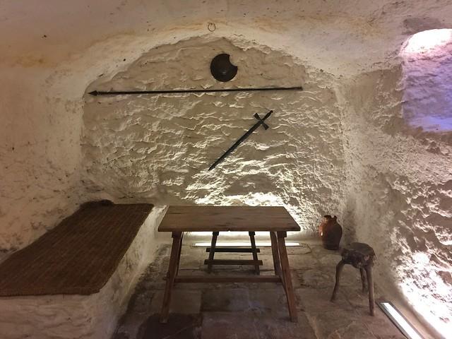 Cueva de Medrano en Argamasilla de Alba (Ruta de Don Quijote en coche)