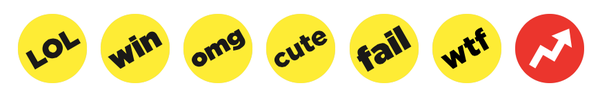 listicle reactions stickers