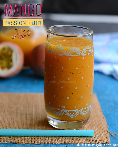 Mango-passion-fruit-juice
