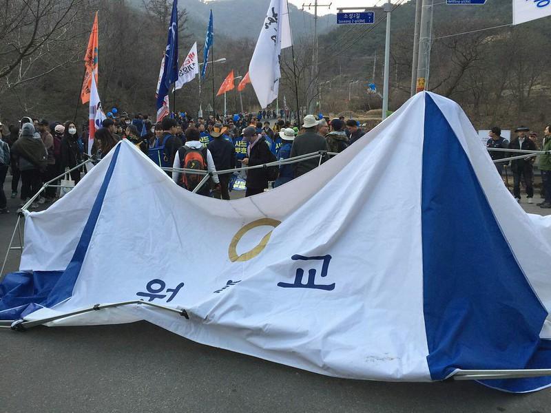 20170318_성주 평화천막 강제철거