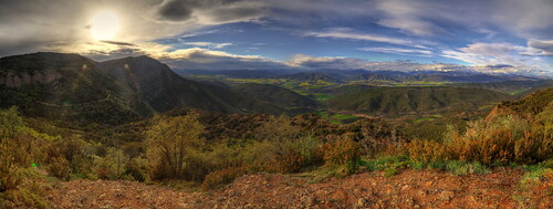HDR Panorama from San Juan de la Peña | by Petaqui
