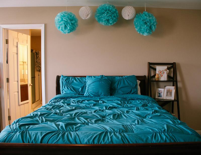 VCNY Monica Turquoise Comforter Set