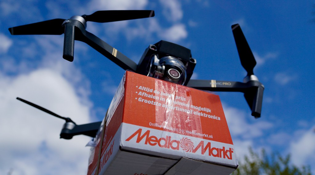 Drone Delivery Drones Robots And Predictive Software