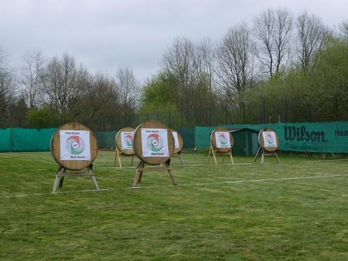 Bogensportanlage Eröffnung 8. April 2017