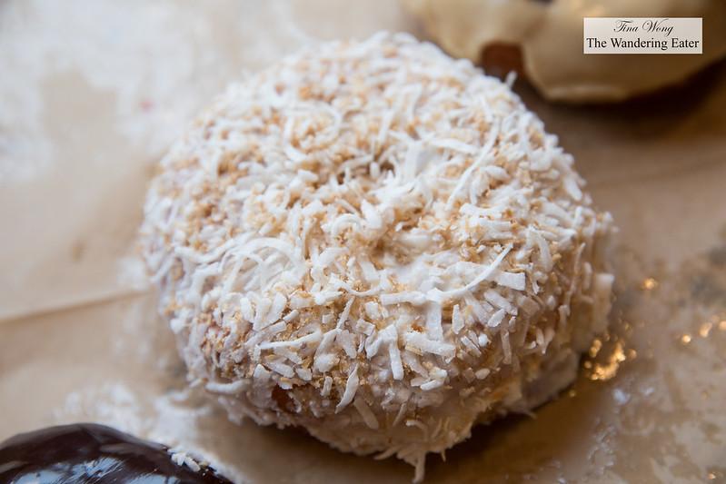 Toasted Coconut doughnut
