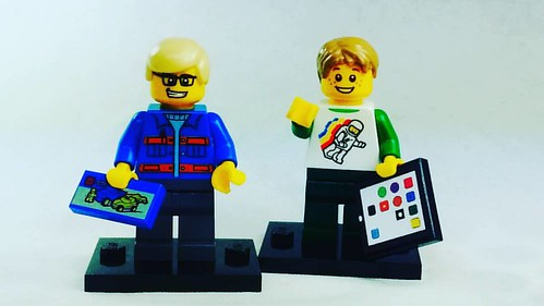 Check out the new custom Lego ipads exclusive to Brick Yourself! #brickyourself #makeyourselfinlego #legoipad, #lego #brickmandan | by BrickManDan
