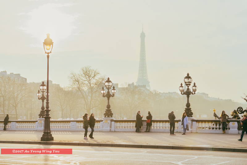 Paris 2017: On The Pont Alexandre III