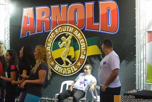 Lutas no Arnold Classics South America 2017