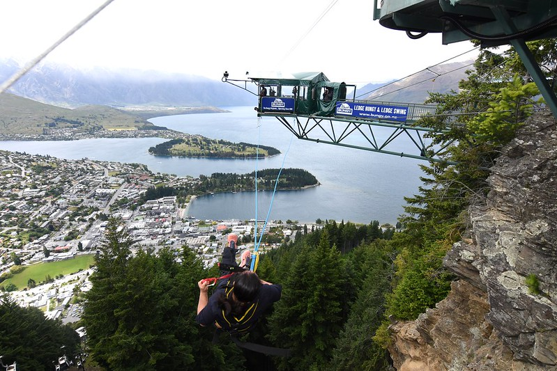 Queenstown Ledge Swing