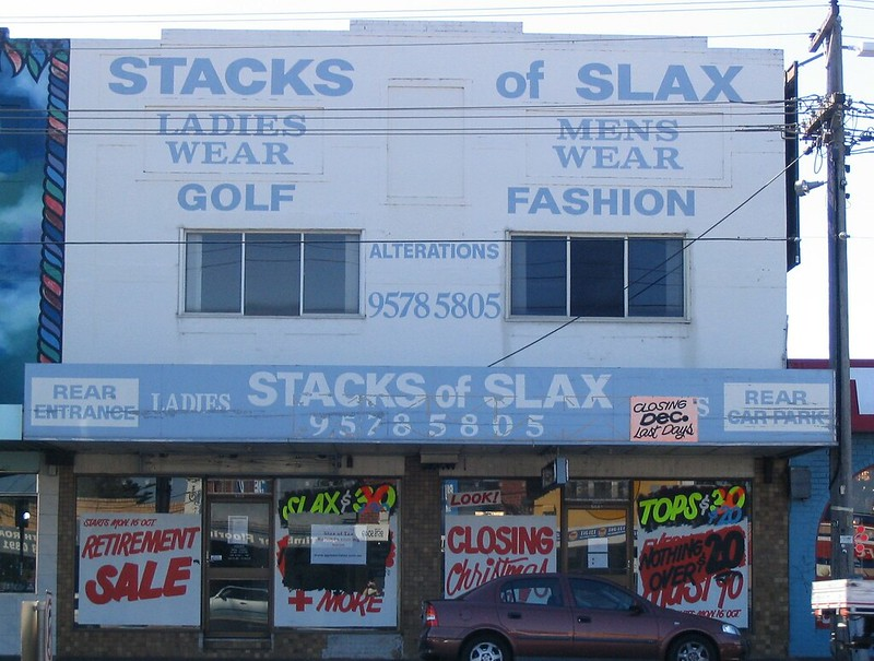 Stacks Of Slax, Ormond, April 2007