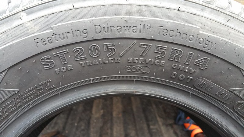 Goodyear Endurance Trailer Tires Load Range D Page 4 Forest