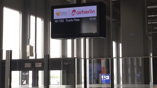 AB 7382 to Puerto Plata @ Airport Düsseldorf