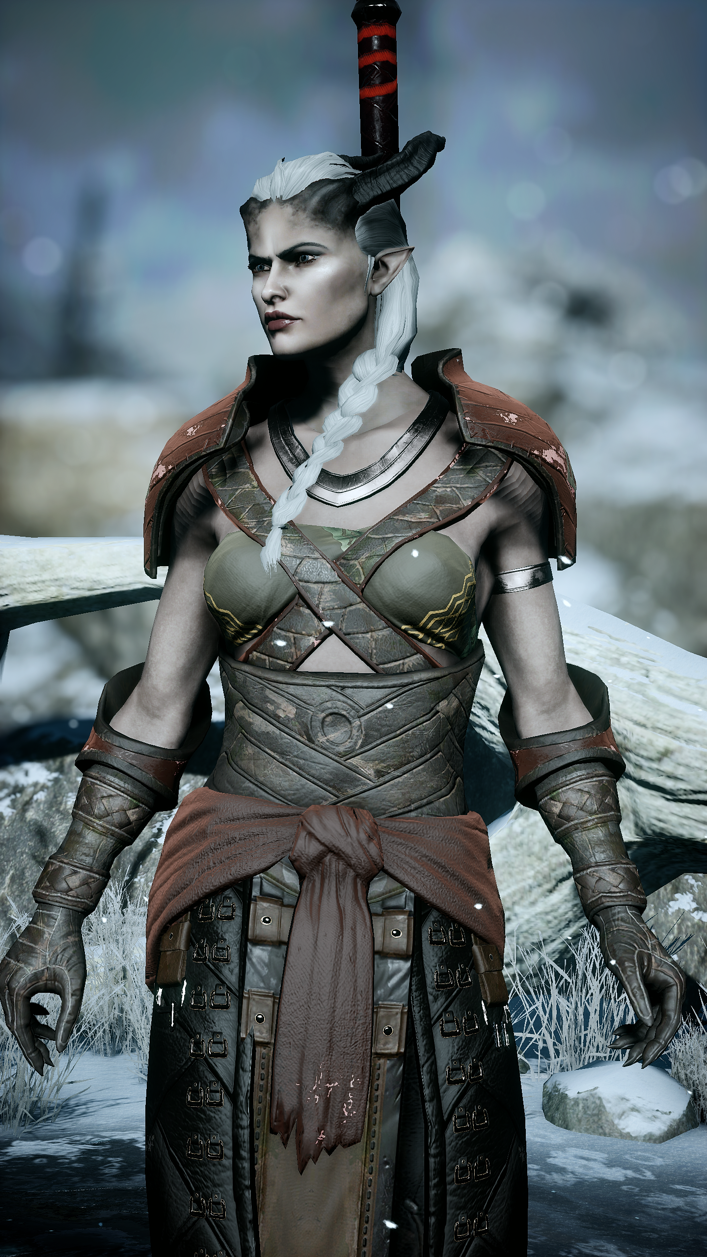 Post Pictures Of Your Inquisitor Here V 2 Bioware Social Network Fan Forums The spoils of the qunari content pack adds new items to your inquisition, inspired by the style of par vollen! post pictures of your inquisitor here