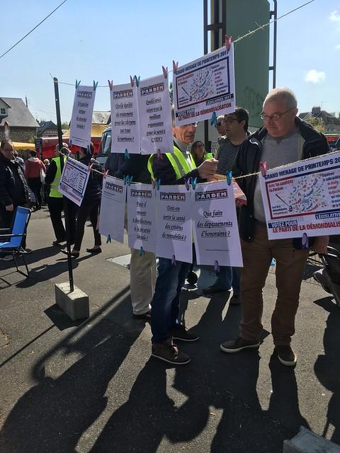 "Calvados - Action ""parole libre"" à Caen le 29 avril 2017"