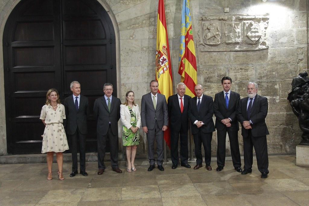 El ministro del interior jorge fern ndez d az ha asistid for Ministro de interior espana