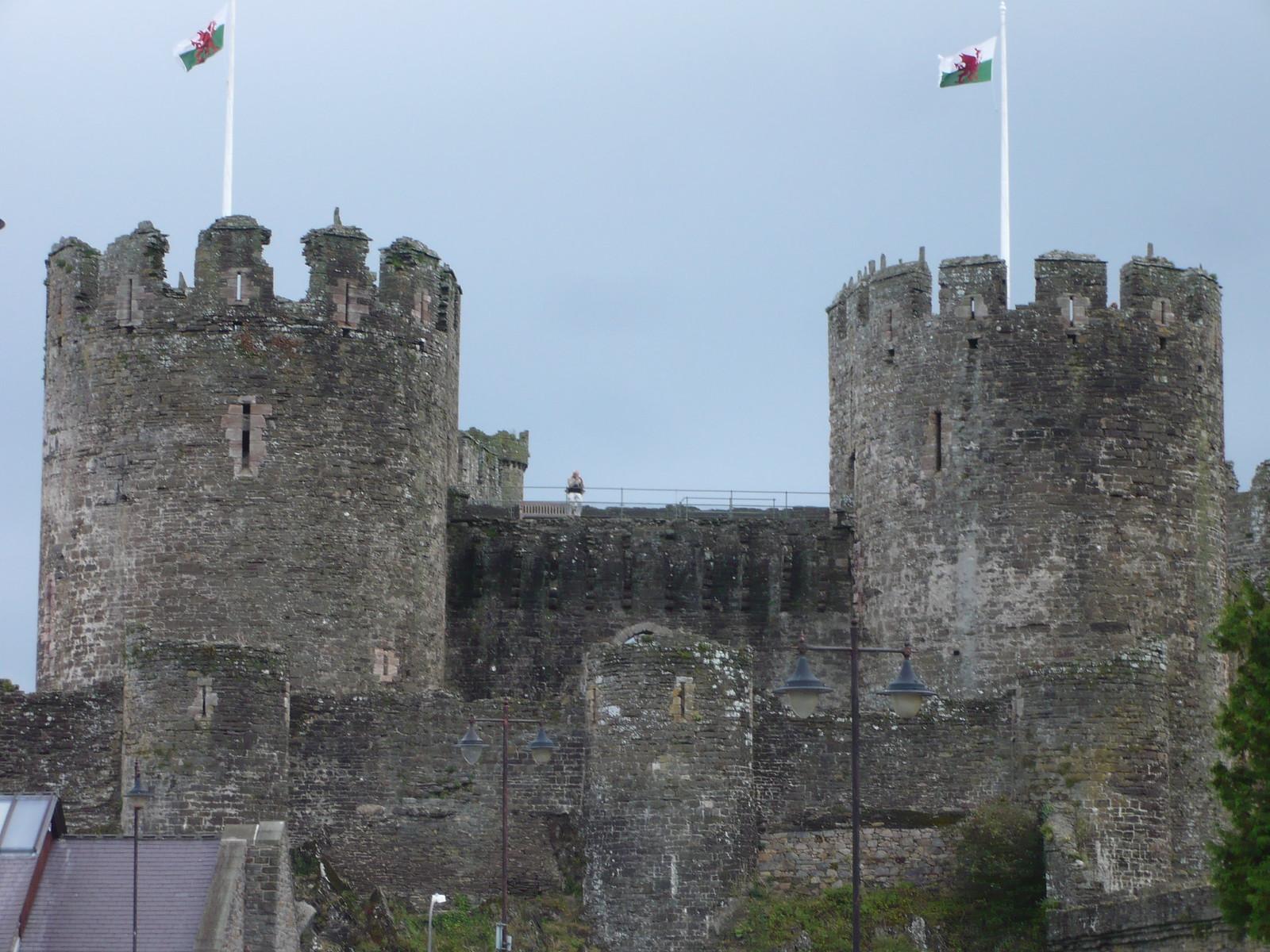 Conwy Castle Ramparts