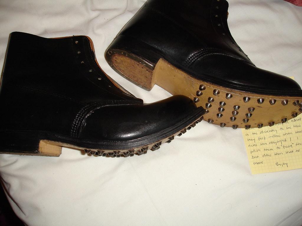 hobnail fell boots crushclogs crushclogs flickr. Black Bedroom Furniture Sets. Home Design Ideas