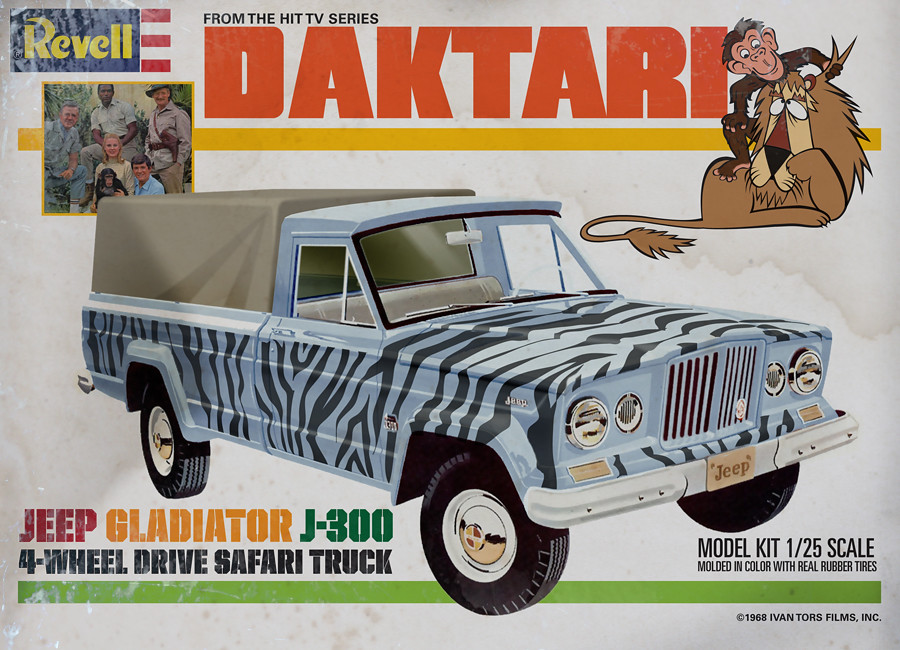 Land Rover >> Daktari Model Kits   (these were never real, but should have…   Frederick Barr   Flickr