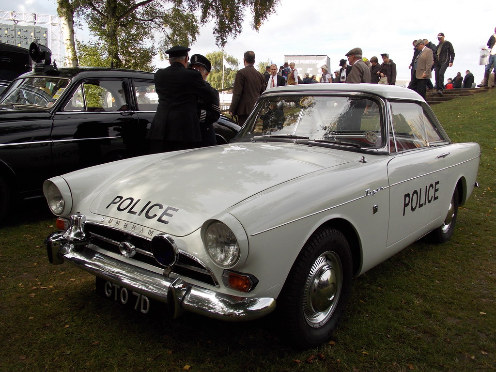 1966 Sunbeam Tiger Police Car Info On The Tiger Series I