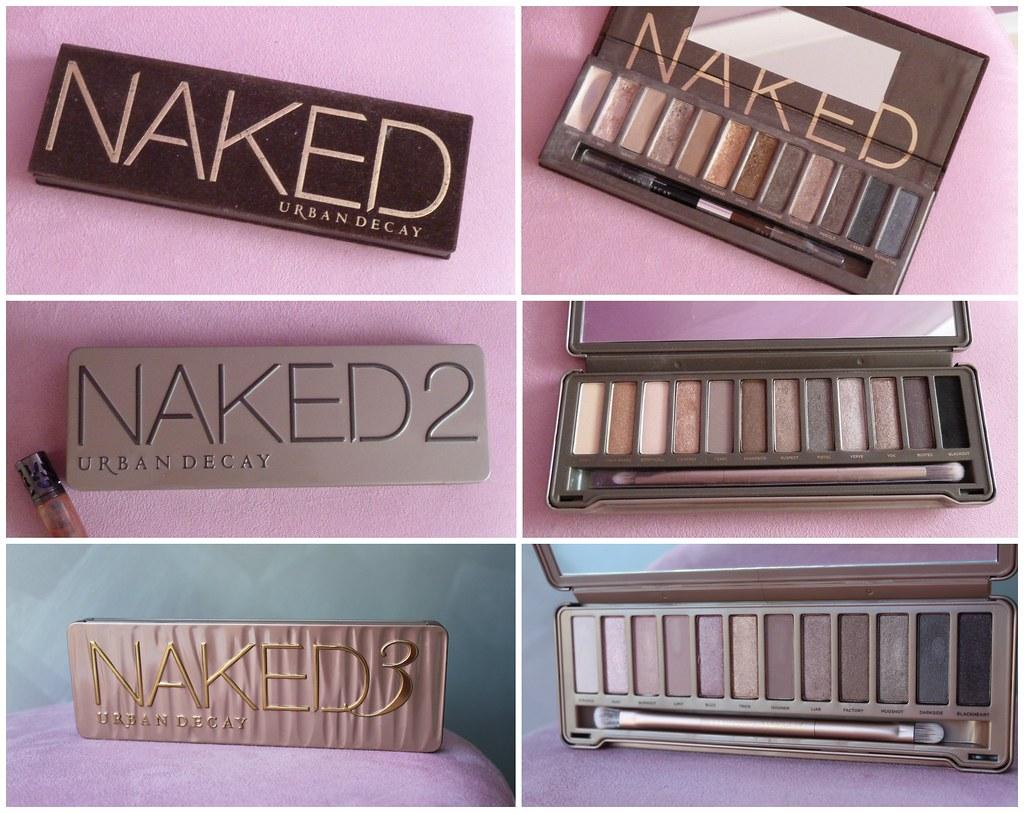 Makeup naked eyes 1