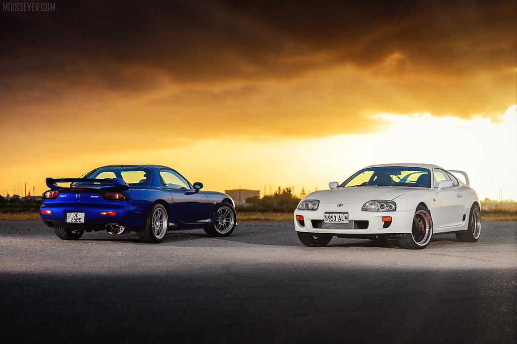 Mazda 3 Forum >> Mazda RX7 vs Toyota Supra | Andrey Moisseyev | Flickr