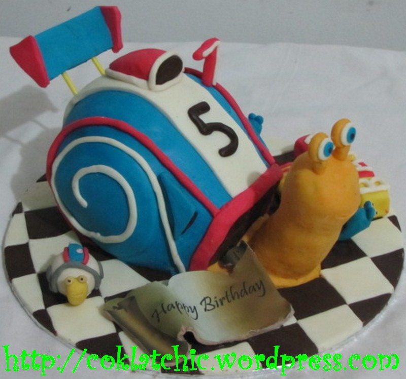 Cake Turbo Snail Niken Idh Flickr