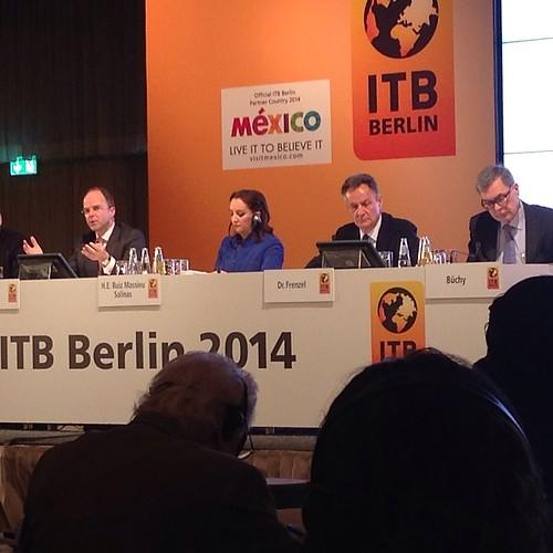 ITB Berlin Eröffnungs-PK #ITBBerlin @itb_berlin